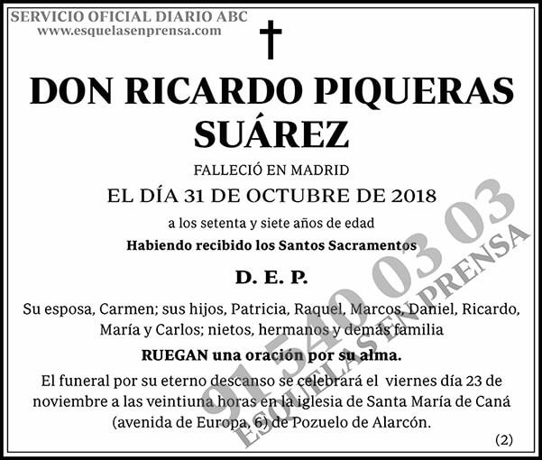 Ricardo Piqueras Suárez